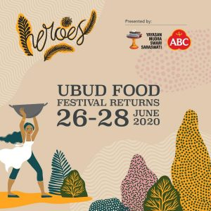 Ubud Food Festival 2020 26-28 June 2020
